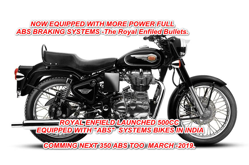 ROYAL ENFIELD LAUNCHED 500CC BULLET EQUIPPED WITH ABS