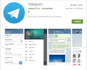 Telegram 5.2.1 Released -with cool new features added