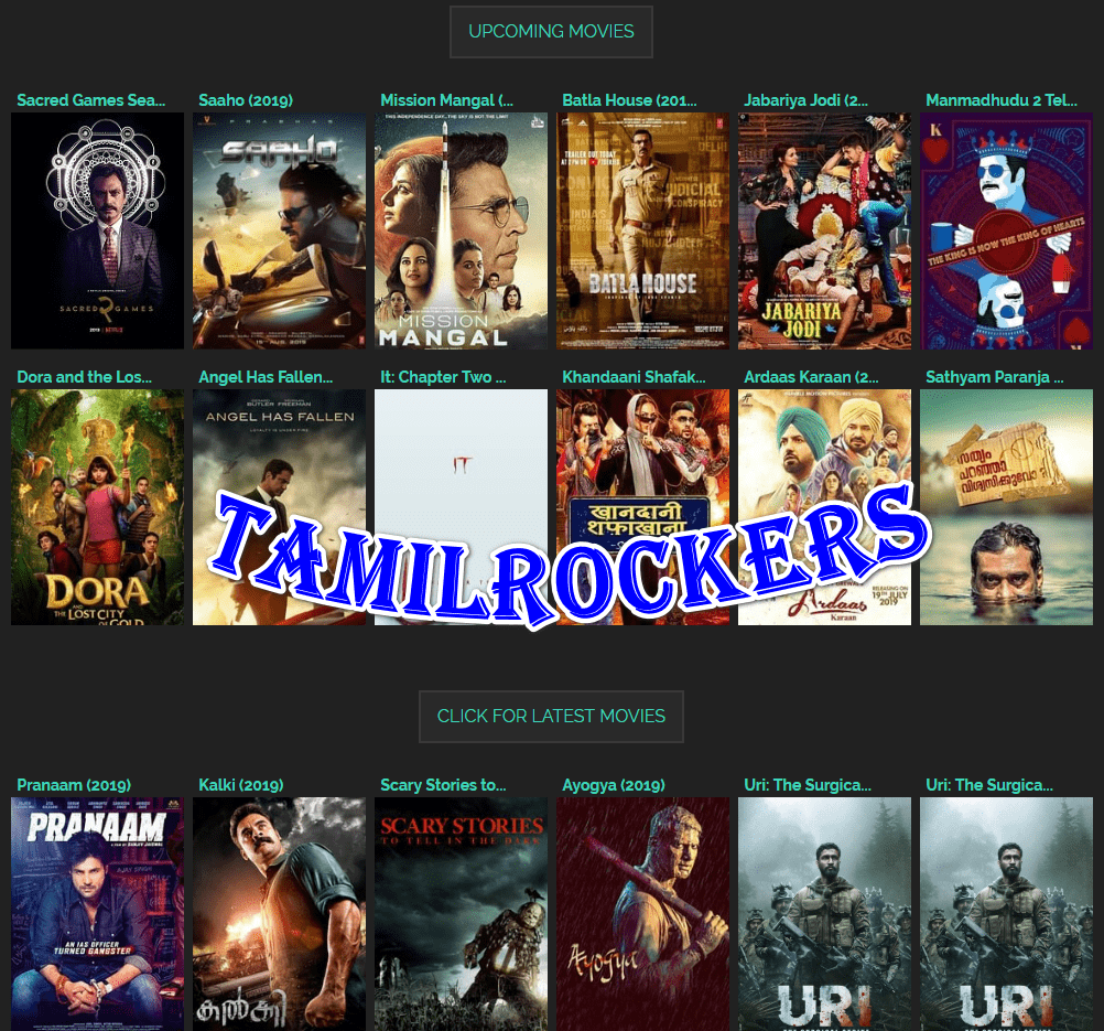 TamilRockers 2019 -Download Latest released HD Telugu, Tamil